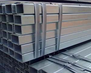 25x50 Galvanized Square Rectangle Steel Hollow Section