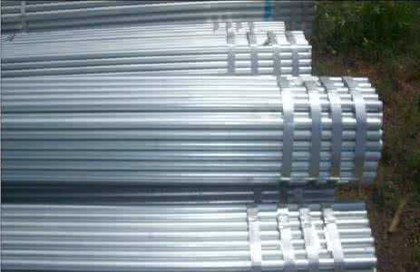 Q195 Schedule 80 Seamless Galvanized Steel Pipe