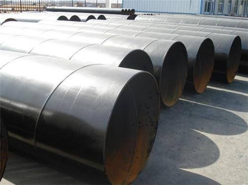 DN200 Q235B ERW Black Welded Steel Pipe