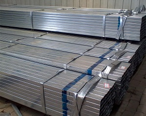 BS1387 75x75 ERW Galvanized Steel Hollow Sections