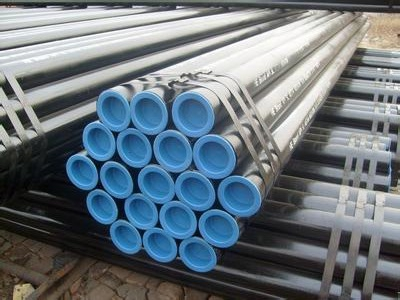 ASTM A106 Sch40 Black Coating Seamless Steel Oil Pipeline